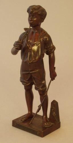 15E: Adolph Jean Lavergne (fl 19th century) - a bronze