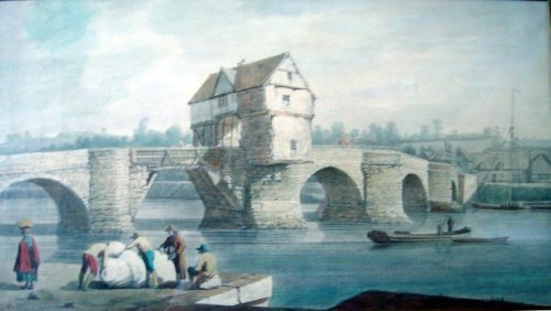 2114: Joseph Farington (1747-1821) The Old Bridge at Be