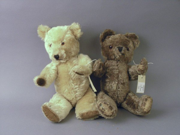 6: A Tara Toys Teddy bear & a Chiltern Teddy bear