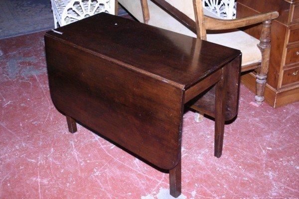 1012: *A George III mahogany table