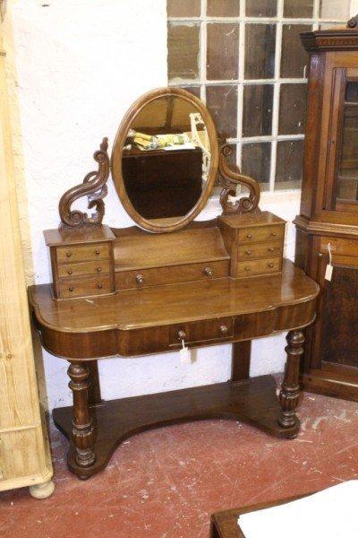 "1021: *A Victorian mahogany ""Duchess"" dressing table, 3"