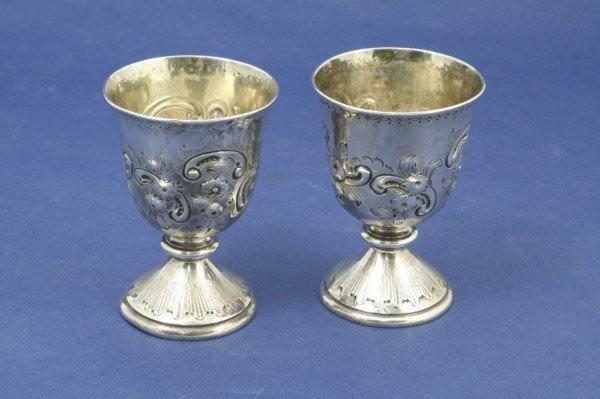 1636: *A pair of George I Brittania standard silver com