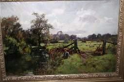 2469: Henry John Yeend King (1855-1924) Youth on a rive
