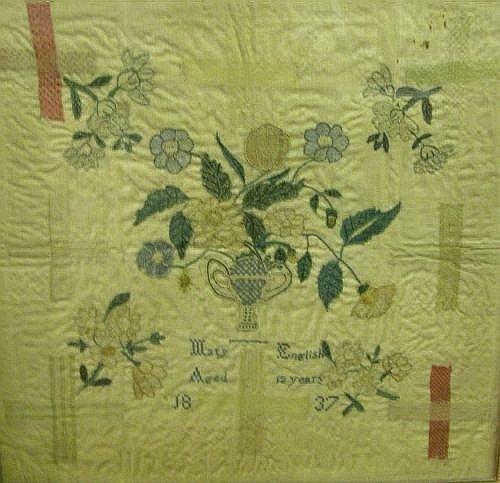 5E: A Victorian needlework picture