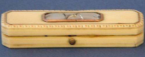 7E: A George III ivory toothpick case