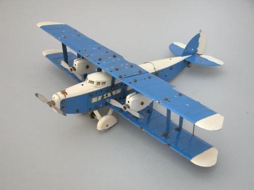 20E: A Meccano bi-plane 'No 2 Special', 1930's