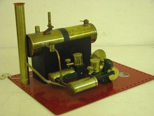 24E: A Bowman live steam stationery engine