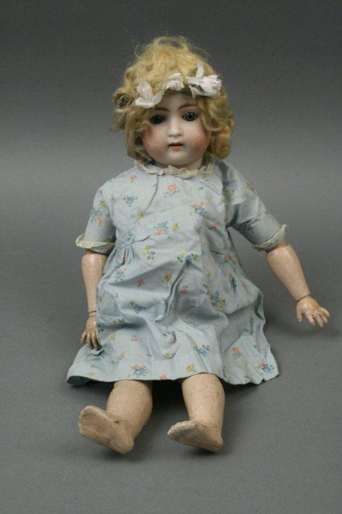 2: An Alt, Beck and Gottschalk bisque doll, 17in.