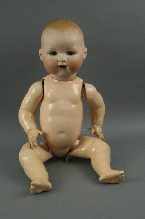 12: An Armand Marseille 'My Dream Baby', 23in. - teeth