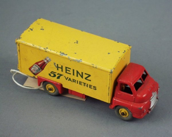 21: Dinky Toys Big Bedford van 'Heinz', fair