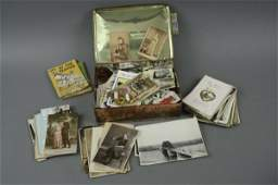 80: A small collection of cigarette cards