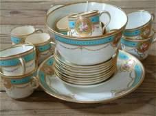 469 A Victorian part tea service twentyfour pieces