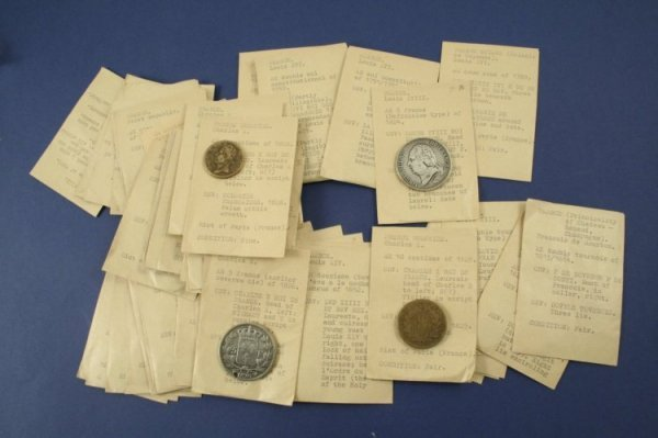 1475: FRANCE, 17th to 19th centuries and 46 other coins