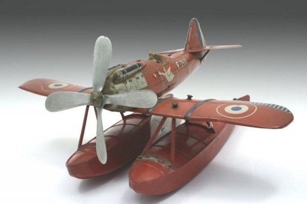 28: A Jouets de Paris (Jep) sea-plane, fuselage 12.5in.