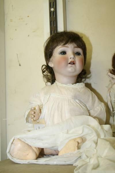 1B: A Gebruder Heubach bisque doll,
