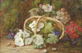 2505 Vincent Clare 18551930 Still life of flowers a