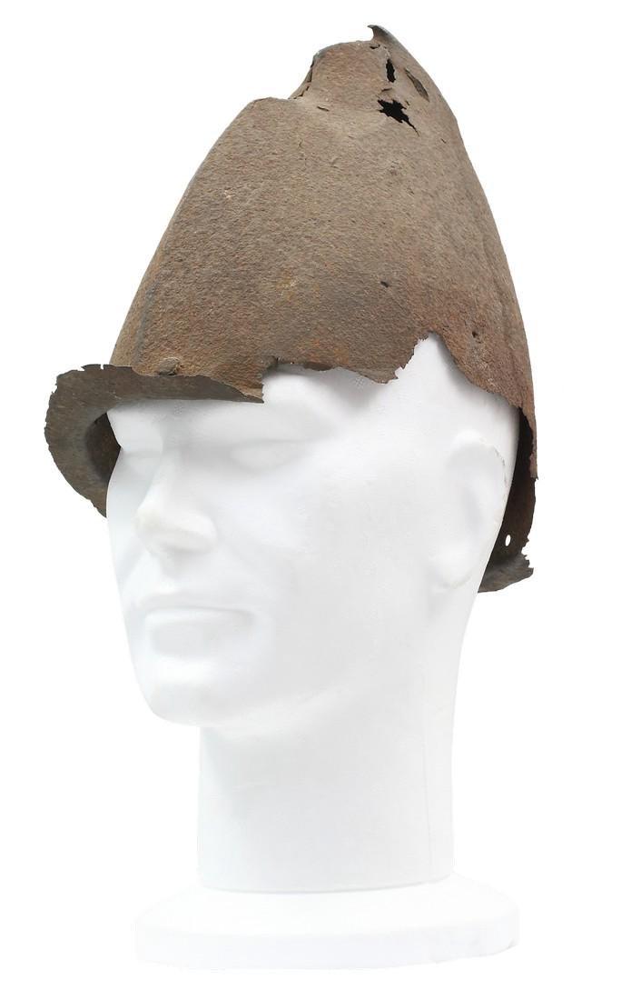 Helmet Fragment, 16th Cent.