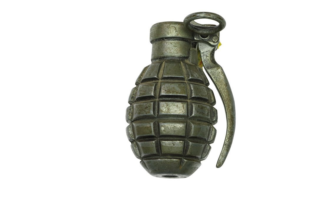 Lighter in the shape of a Grenade