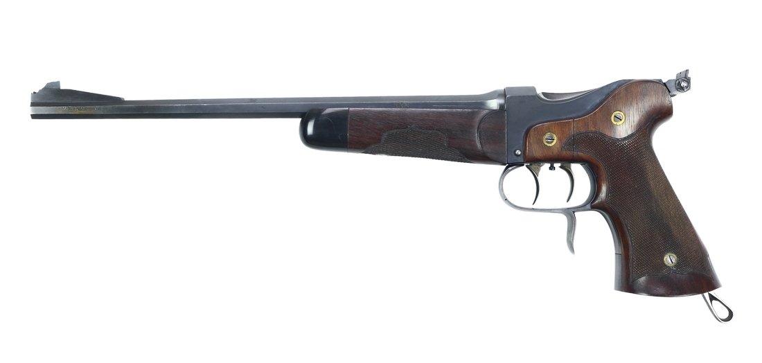Target Pistol, Weber & Tschudi, .22