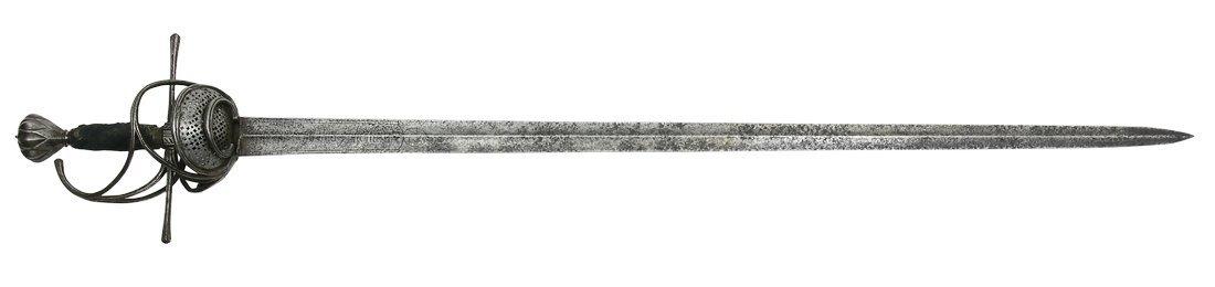 Officer's Sword, Pappenheim-Type, German/Swiss, ca.