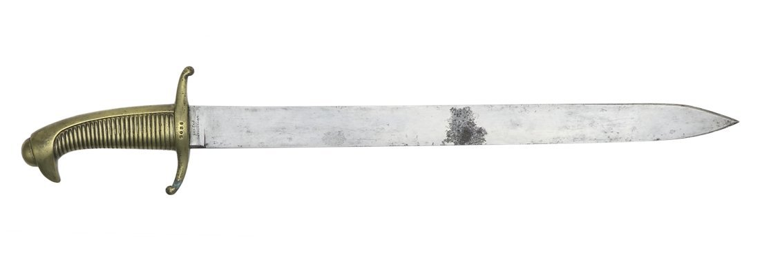 Military Hunting Knife, Swiss State Ordnance ca. 1840,