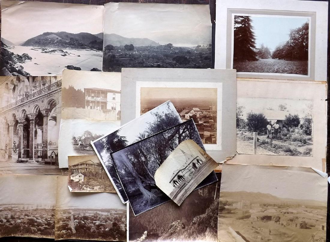 Photographs - Asia, Holy Land etc C1880-1920 Lot of 16