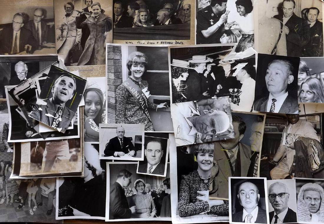 Photographs - Press Photos C1940-60 Lot of 32. UK