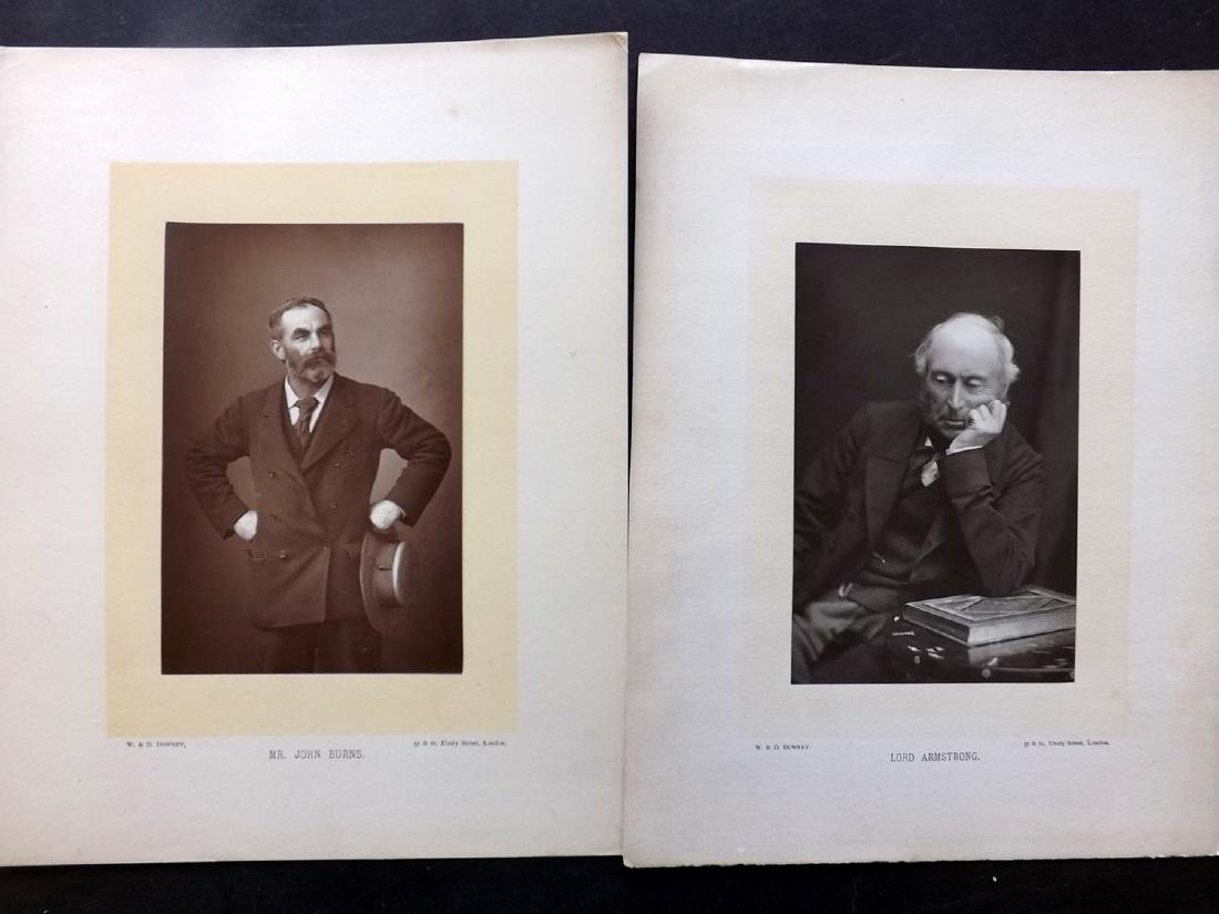 Photographs - Portraits C1890 Lot of 11 Woodburytype - 2
