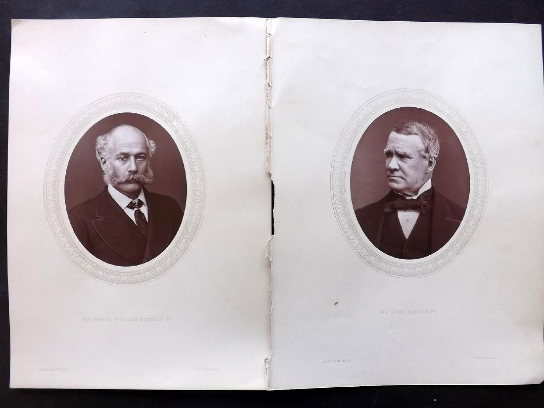 Photographs - Portraits C1890 Lot of 11 Woodburytype - 3