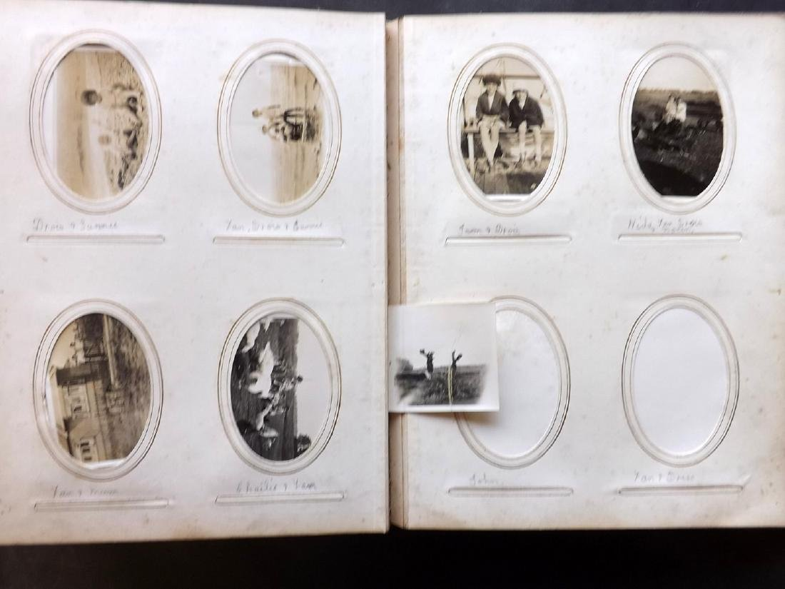 Photo Album 1873 Leather Bound. 100+ Photos - 10