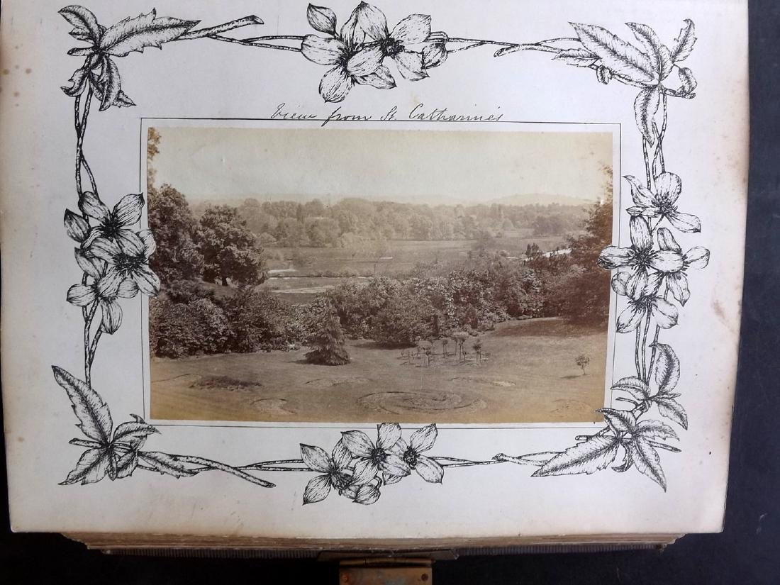 Photo Album 1873 Leather Bound. 100+ Photos - 3