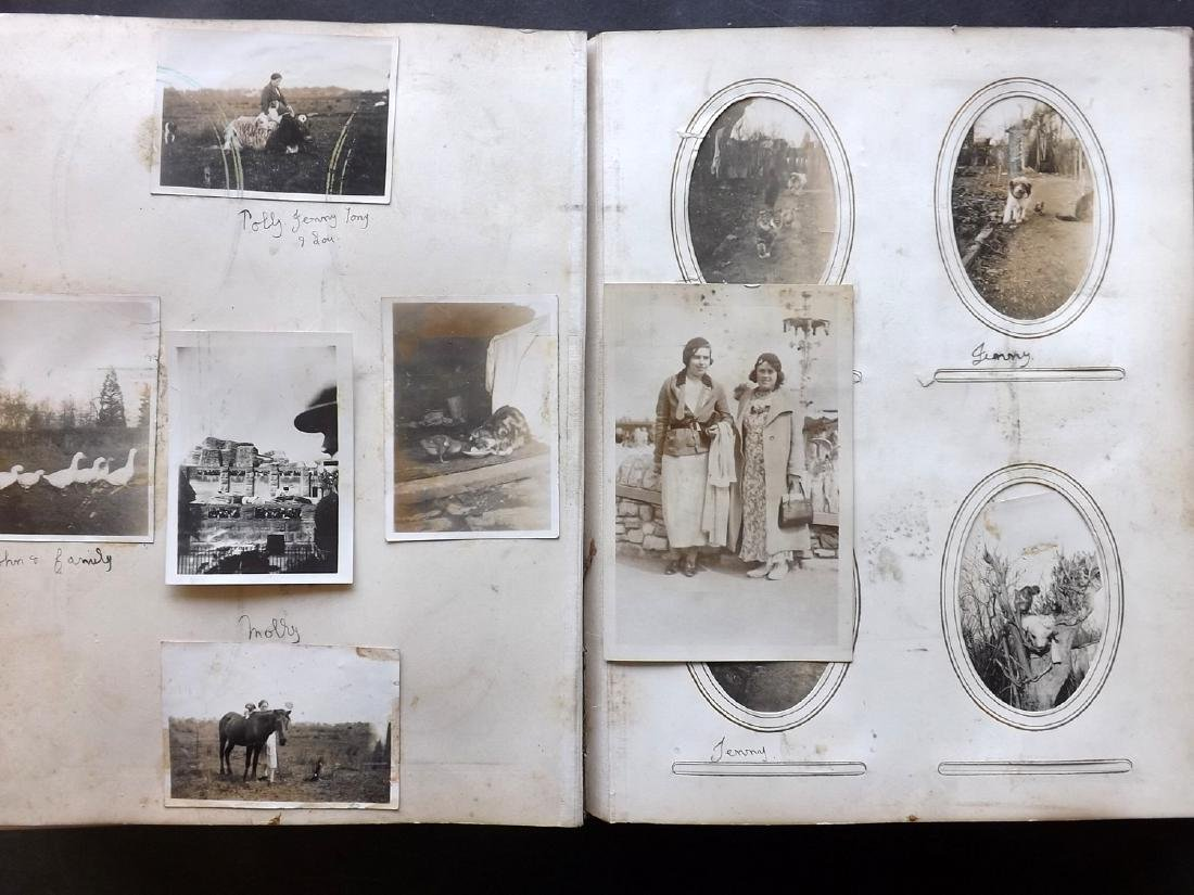 Photo Album 1873 Leather Bound. 100+ Photos - 9