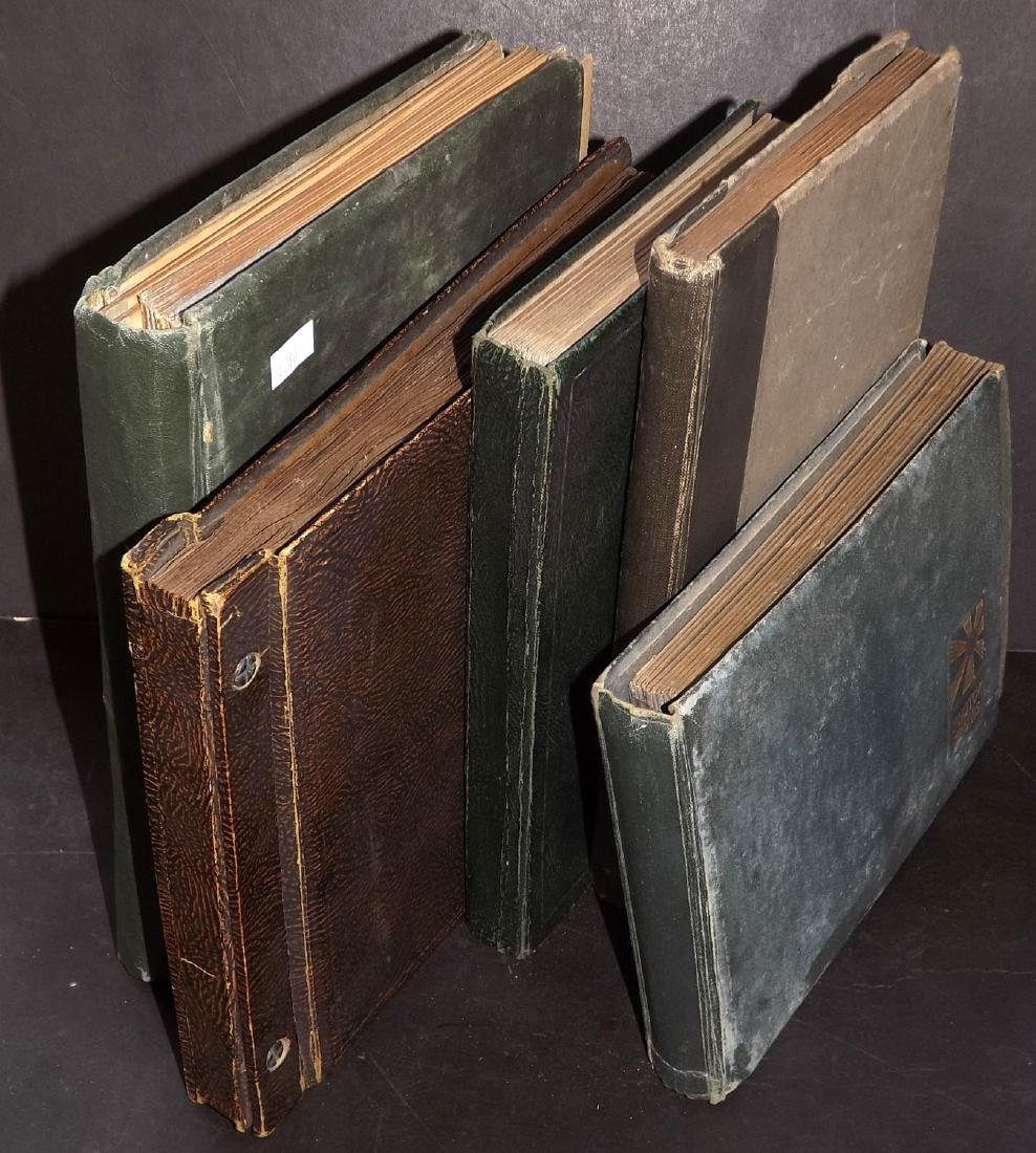 Photo Albums C1920's/30's Group of 5. Many Photos