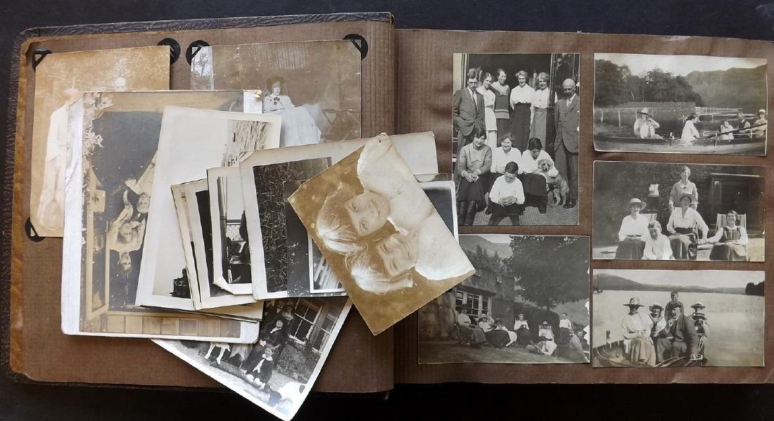 Photo Albums C1920's/30's Group of 5. Many Photos - 5