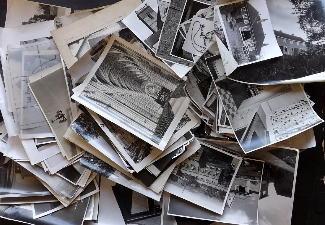 Photographs - Estate Agents, UK. 1960's Lot of 150