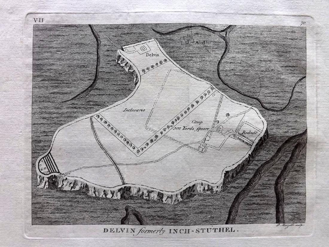 Grose, Francis 1784 Group of 5 British Map/Plans - 2