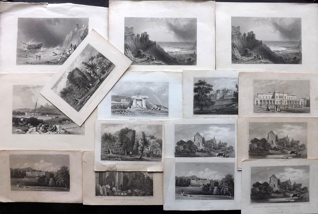 British Views - Kent 19th Cent. Lot 15 Steel Engravings