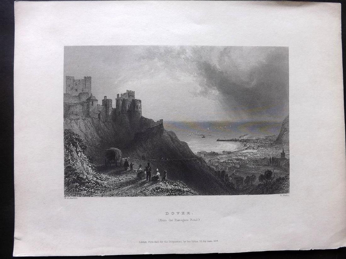 British Views - Kent 19th Cent. Lot 15 Steel Engravings - 3