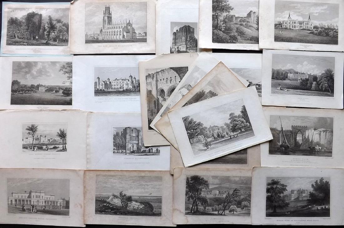 British Views - Kent 19th Cent. Lot 21 Steel Engravings