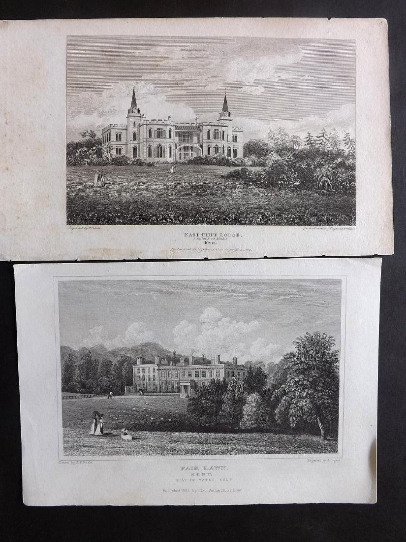 British Views - Kent 19th Cent. Lot 21 Steel Engravings - 3