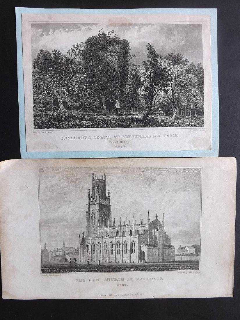 British Views - Kent 19th Cent. Lot 21 Steel Engravings - 4