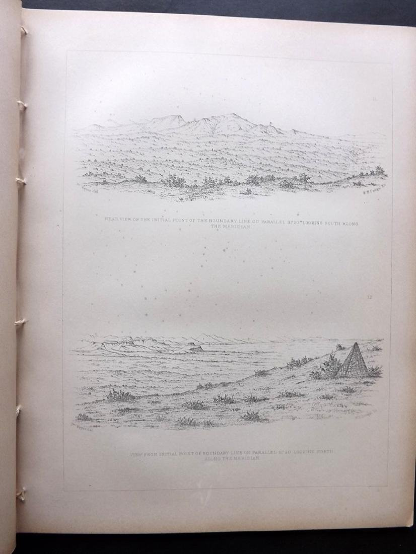 California 1857 Lot of 12 Sheets of Etchings