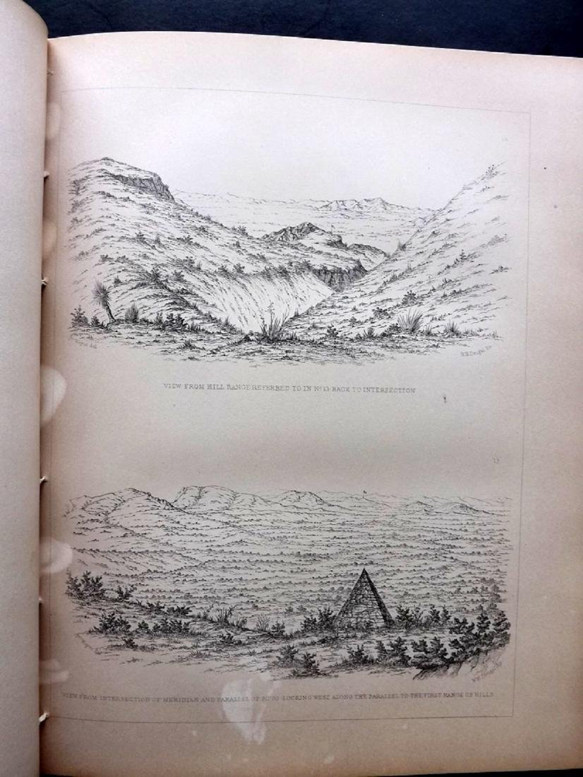 California 1857 Lot of 12 Sheets of Etchings - 2
