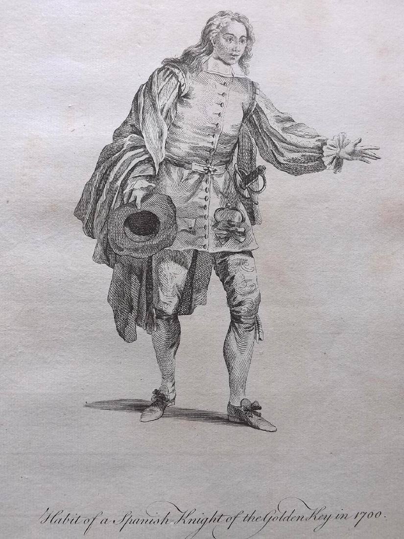 Jefferys, Thomas C1760 - 3 Spanish Costume Prints Spain - 2