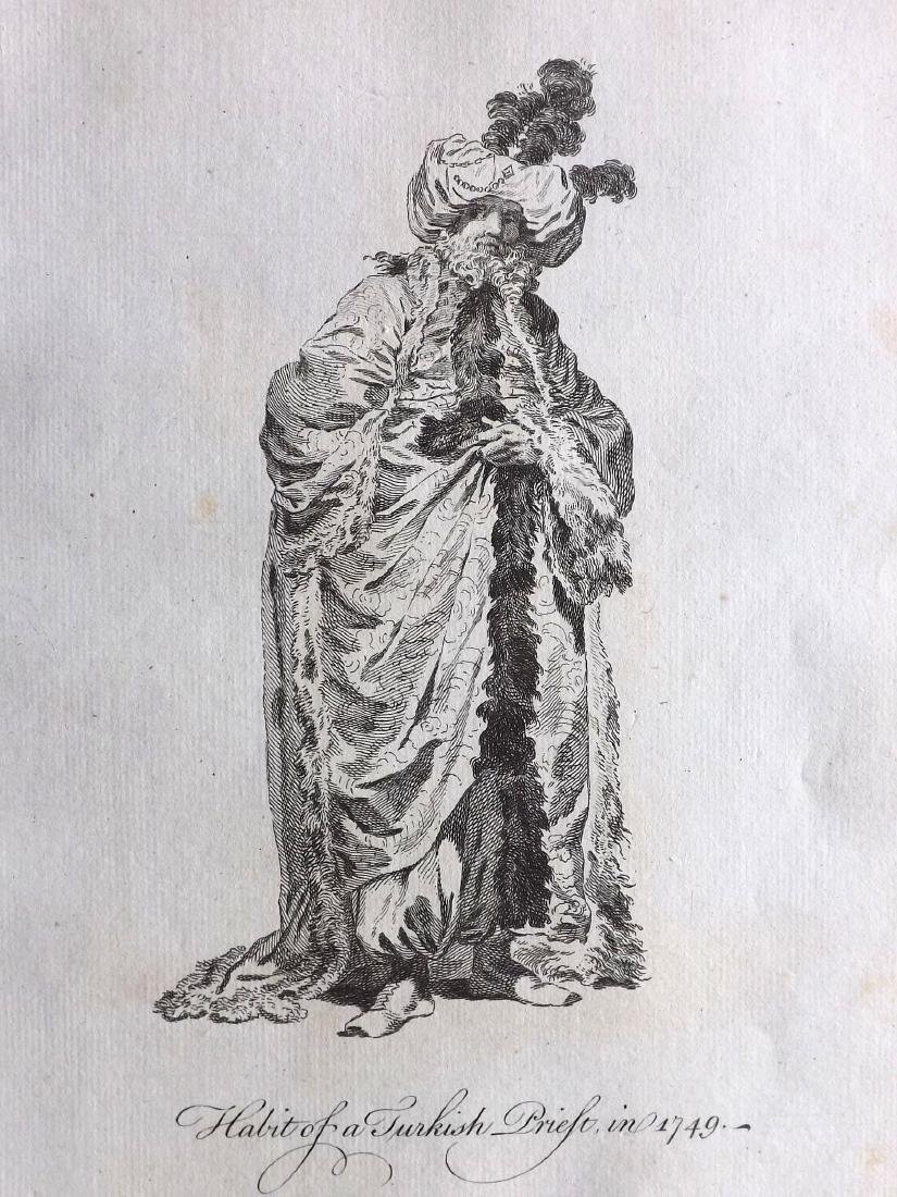 Jefferys, Thomas C1760 - 4 Turkish Costume Print Turkey - 2