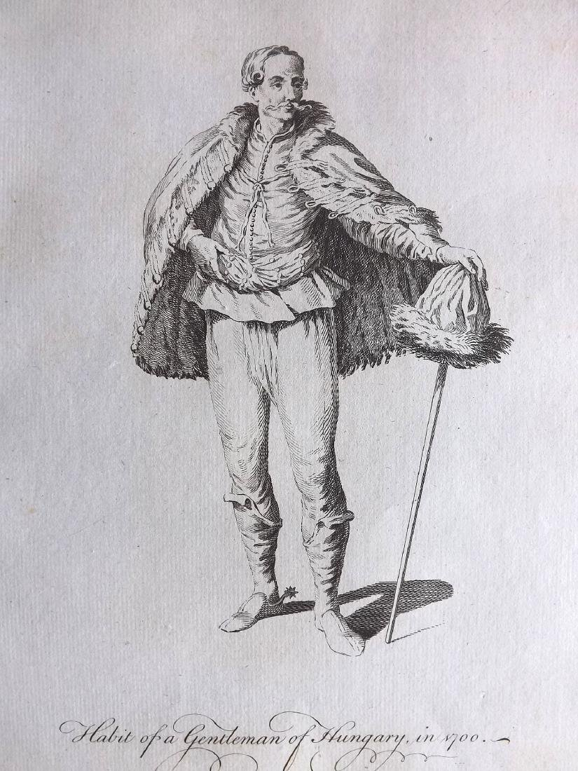 Jefferys, Thomas C1760 Pair of Costume Prints. Hungary - 2