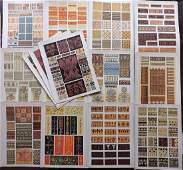 Jones, Owen 1910 Lot of 15 Architectural Design Prints