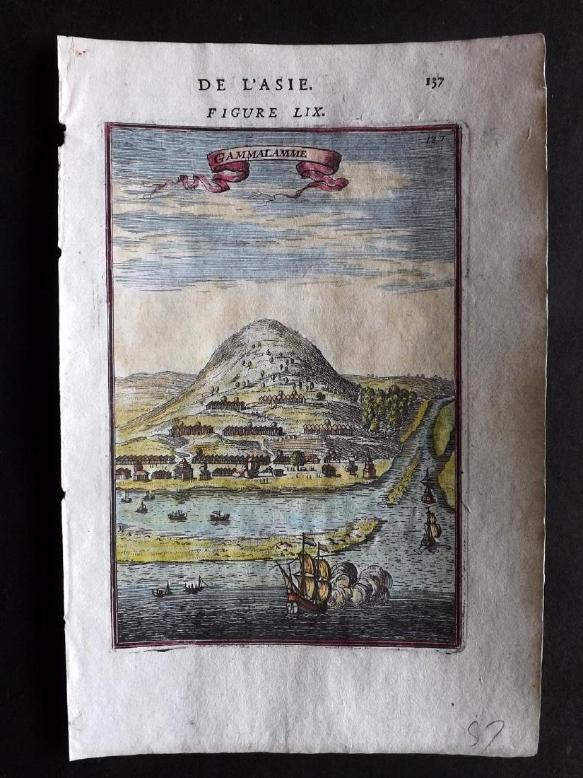Mallet, Alain Manesson 1683 HC Print of Indonesia