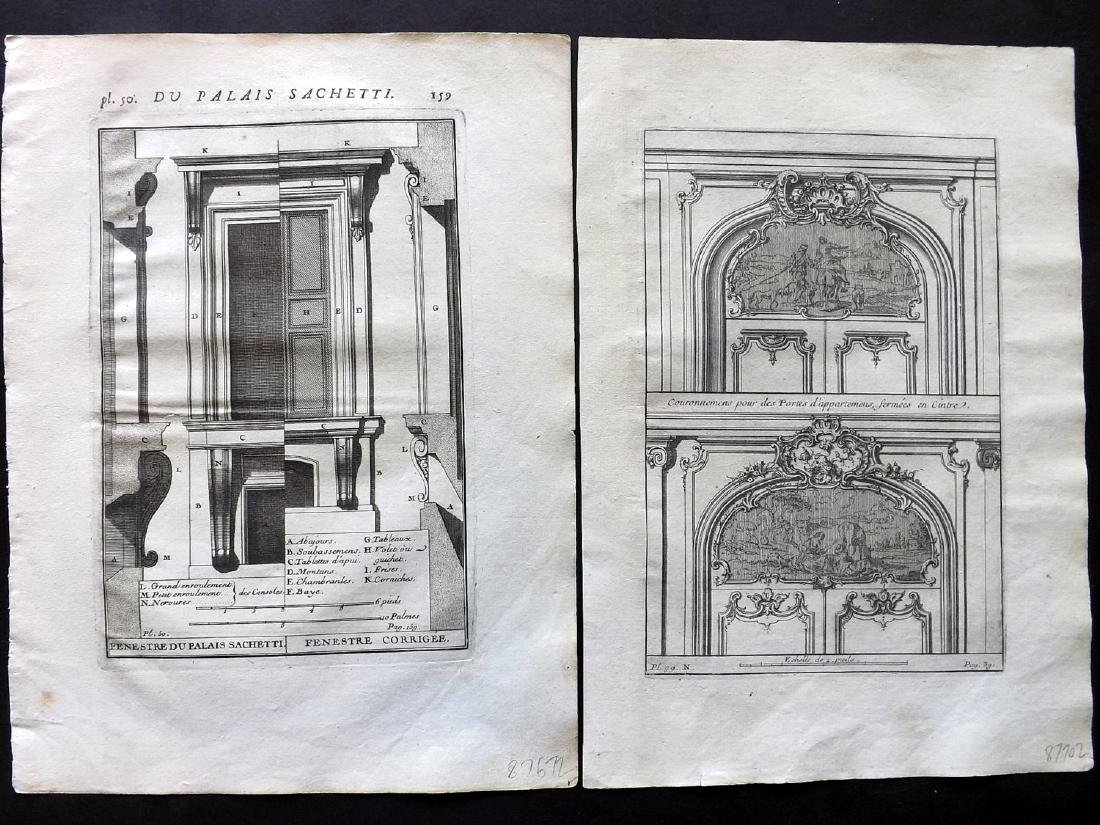 Vignola, Giacomo 1738 Lot of 12 Architectural Prints - 2