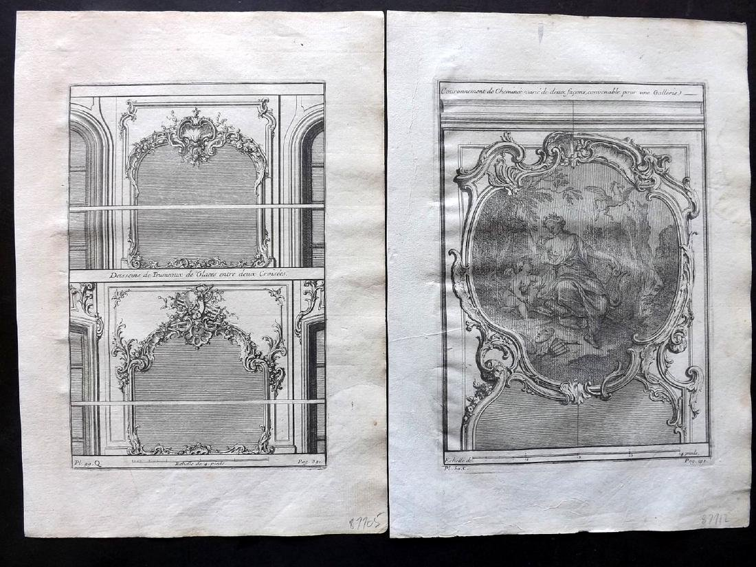 Vignola, Giacomo 1738 Lot of 12 Architectural Prints - 3